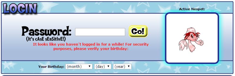 Neopets Birthday